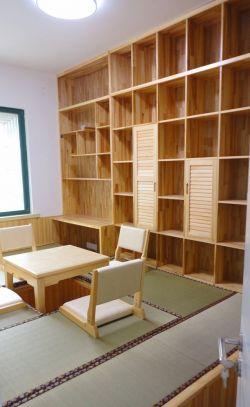 小户型老房子榻榻米升降桌装修效果图片