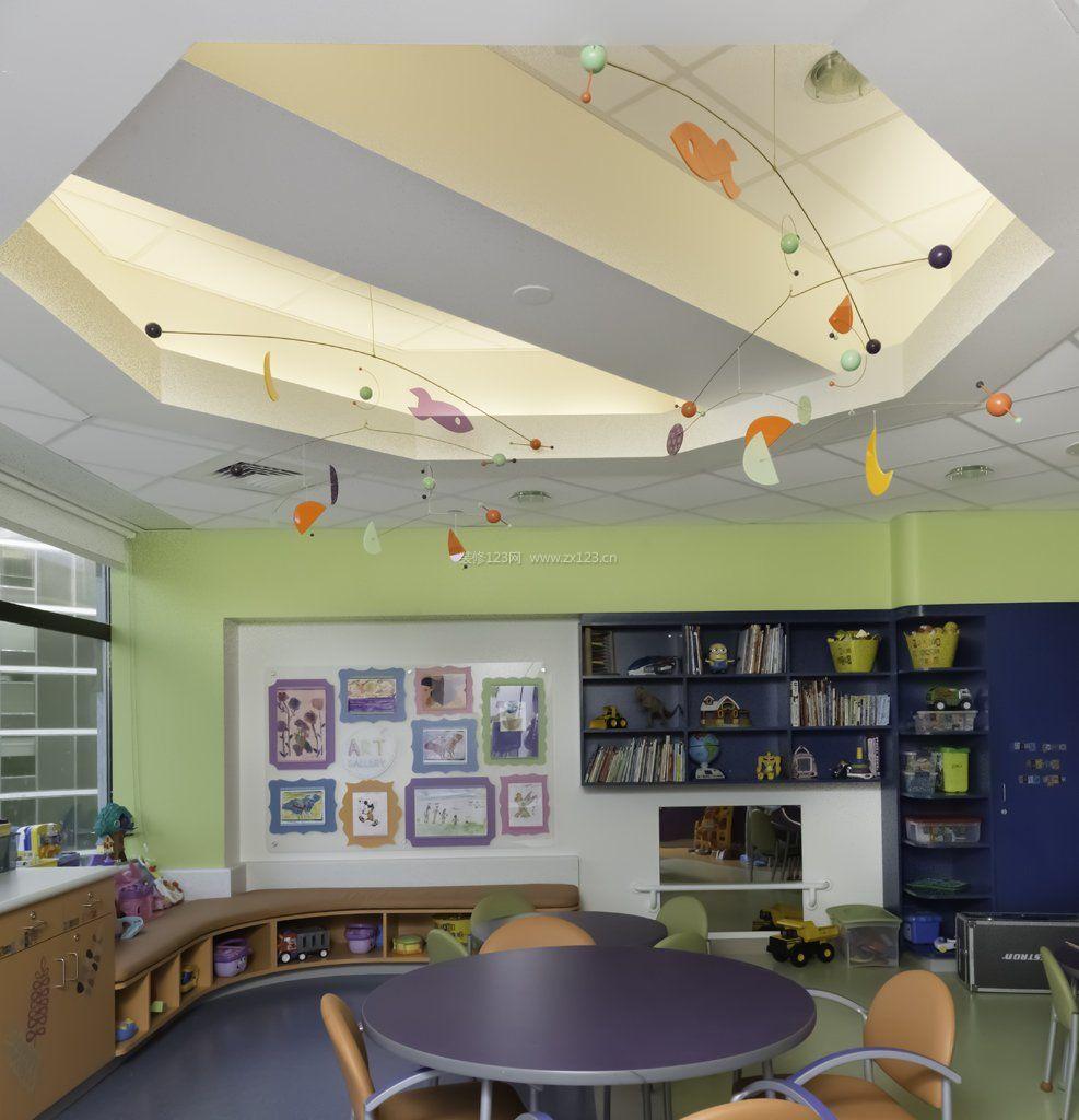 室内幼儿园吊顶设计装修效果图片大全