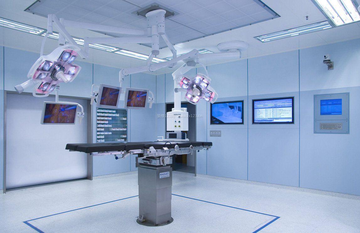 室内现代简约风格医院手术室装修设计图
