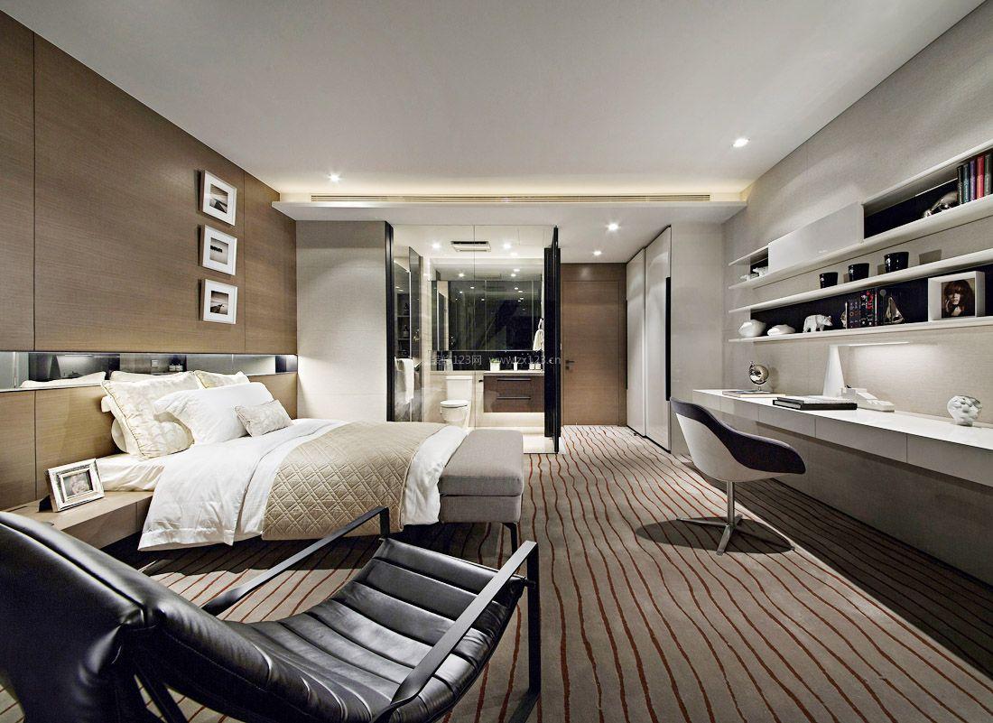 室内设计现代简约风格大卧室装修效果图图片