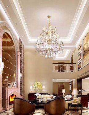 別墅客廳吊頂大全 客廳簡單吊頂效果圖
