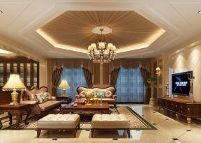 別墅客廳吊頂大全 別墅客廳設計