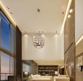 簡約別墅設計別墅客廳吊頂大全-每日推薦