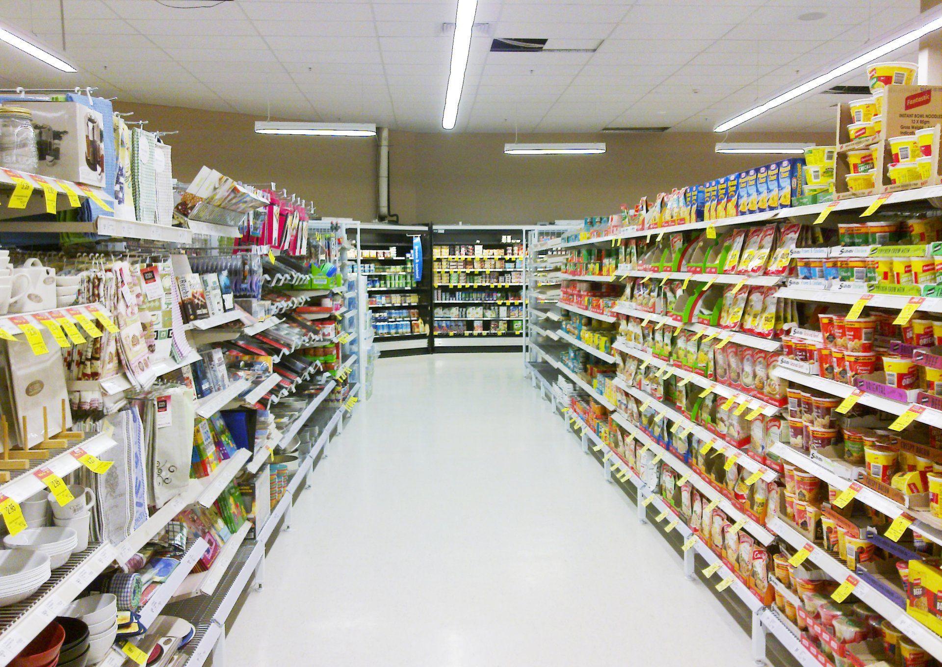 现代超市装饰设计效果图片大全图片