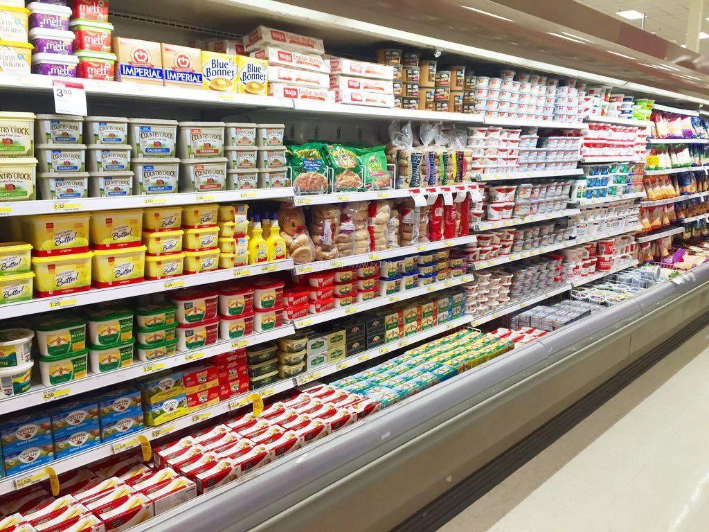 小超市货架摆放图片图片