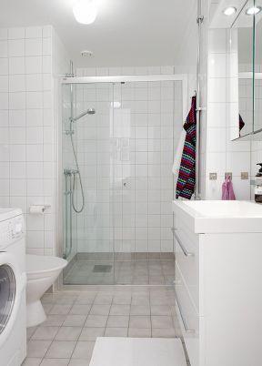 卫生间装修效果图小户型现代-装修123网效果图大全