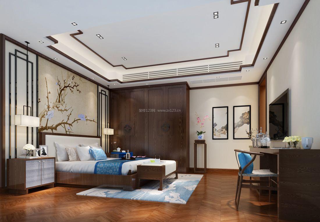 大卧室中式装修风格元素装修效果图