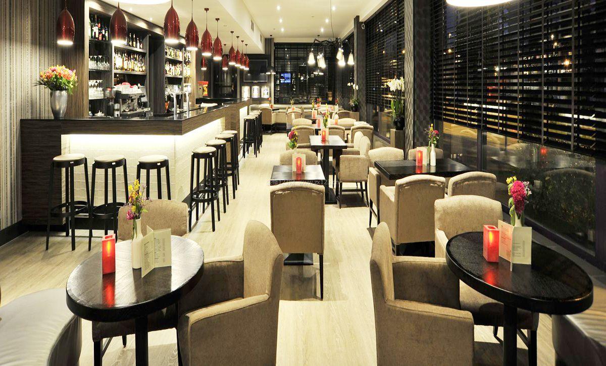 2017简约酒吧室内设计装修效果图吉林市劳卡衣柜图片