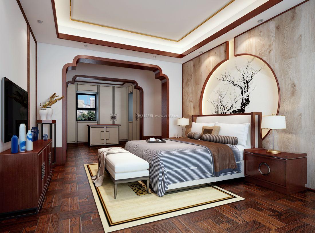 农村别墅室内中式装修风格元素图片大全图片