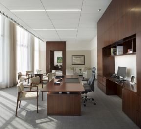 专业办公室装修 现代办公室效果图赏析