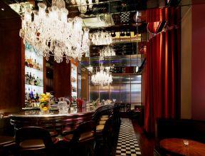 漂亮的效果室内酒吧装修吧台图片欣赏装修拆除图片