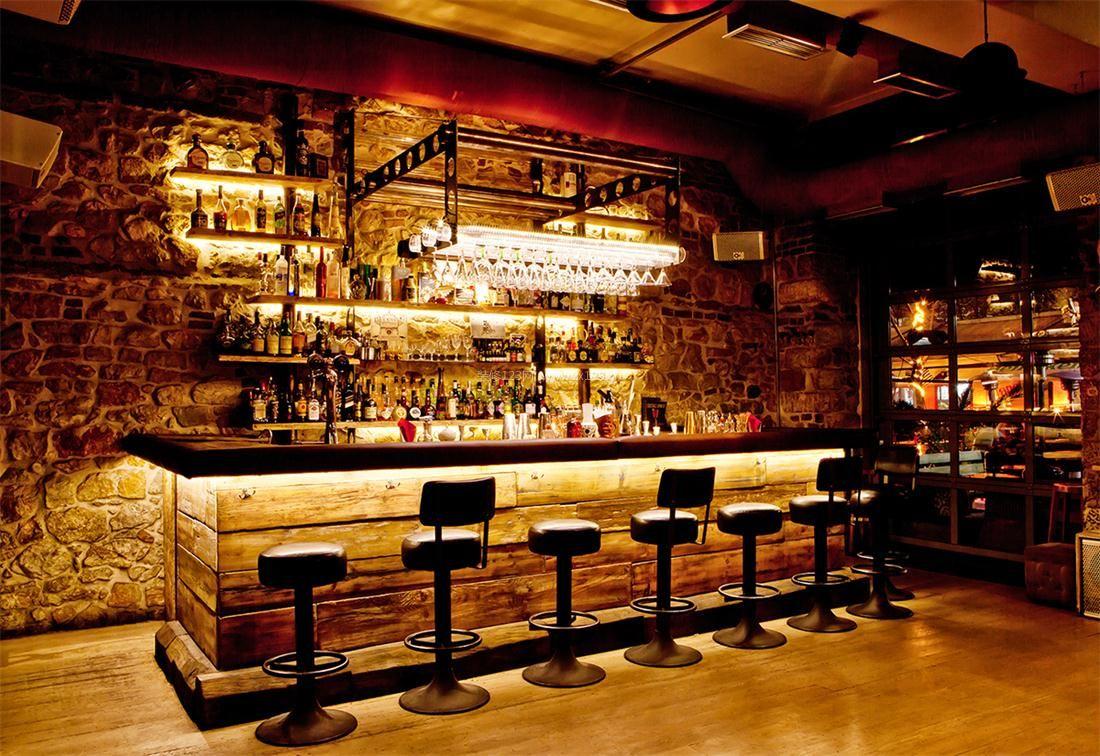 特色图片装修酒吧二级半安装集成吊顶图片