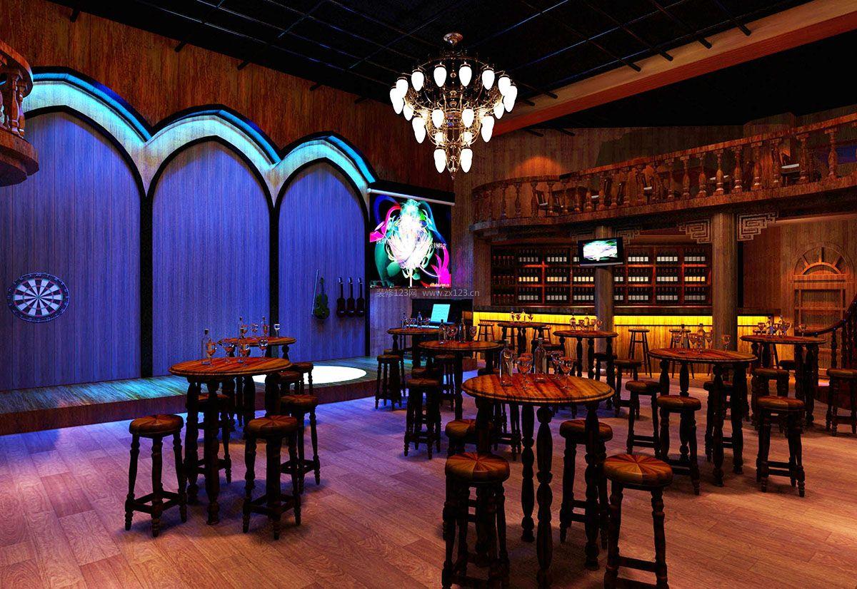 主题酒吧内部设计装修效果图片