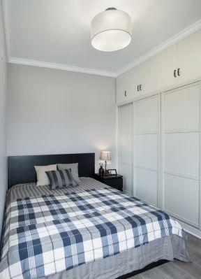 70平米简约风格 男生卧室装修效果图片图片