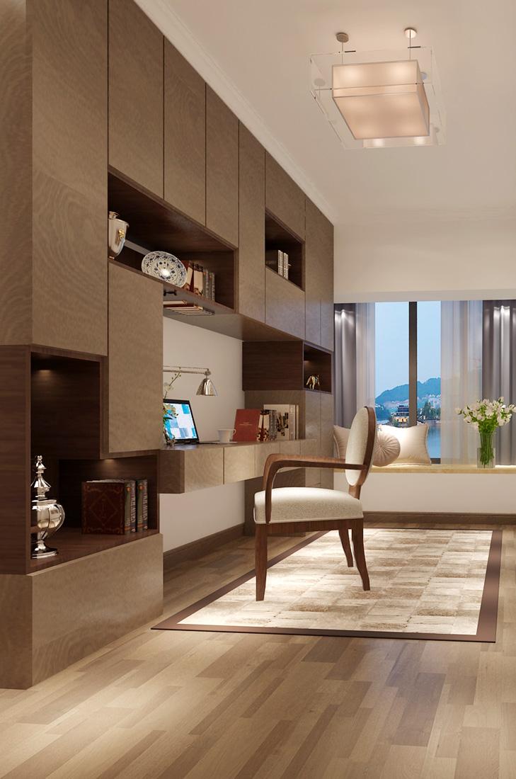 公寓小办公室装修效果图图片