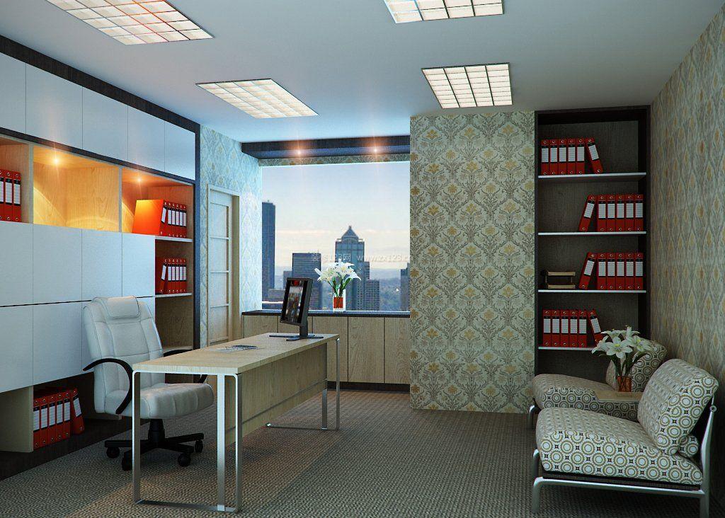 办公室吊灯装修效果图片大全