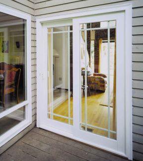客厅到阳台的门效果图 阳台推拉门图片