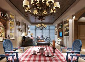 客厅灯具装饰 田园地中海风格