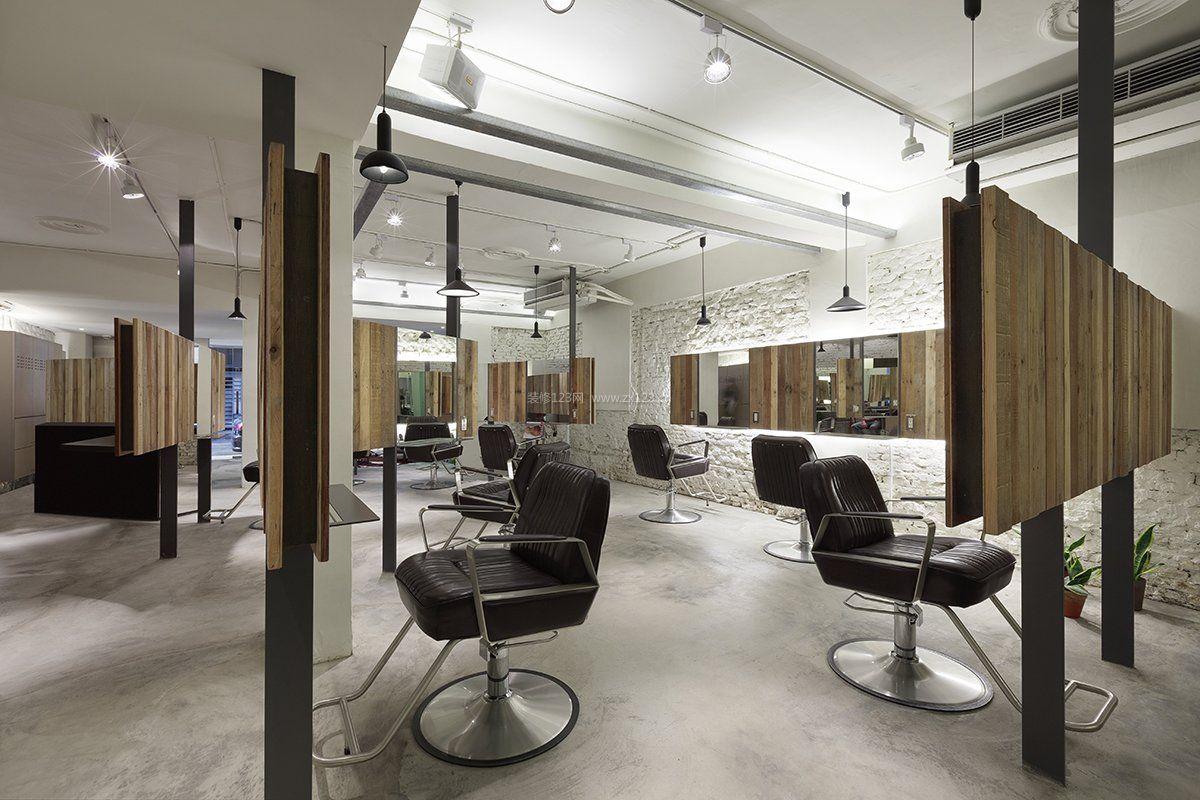 工装效果图 室内 美发店室内射灯装修效果图片 提供者