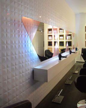 50平米美发店装修效果图片