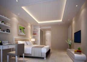 时尚家居别墅装修现代卧室别墅呼和浩特市新城区图片