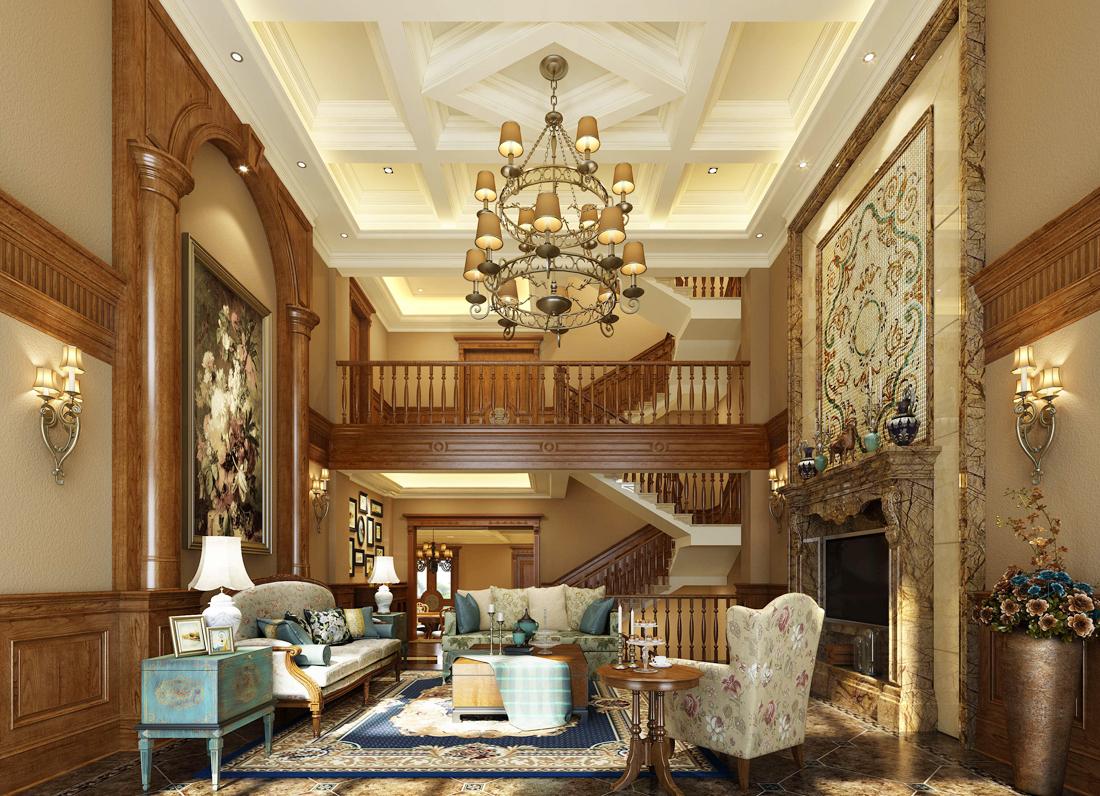 豪华三层别墅建筑室内设计图片大全