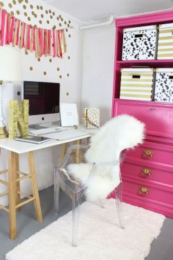 現代時尚裝修小型辦公室裝潢效果圖