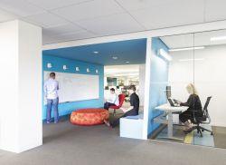 小型辦公室裝潢室內設計現代簡約風格效果圖