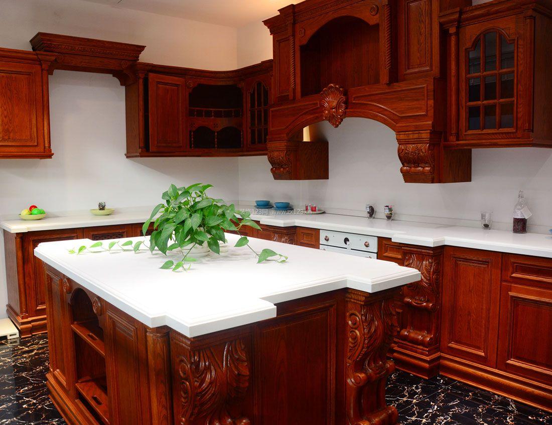 农村中式小型别墅厨房装修图片大全
