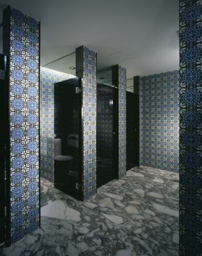 饭店门面装修图片大全 卫生间隔断设计