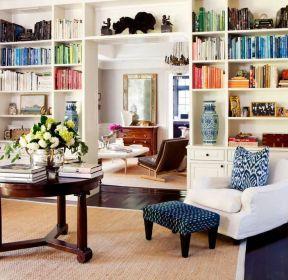 现代风格办公室书柜装饰-每日推荐