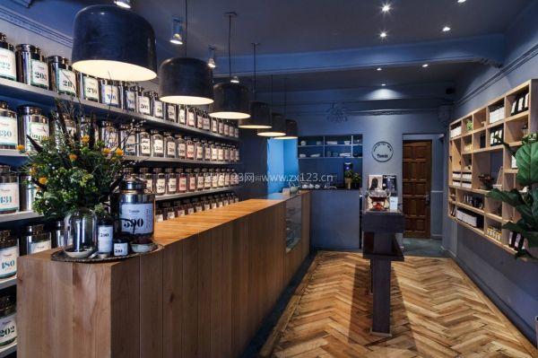 现代简约风格奶茶店装修效果图-合肥奶茶店设计装修 奶茶店装修原则