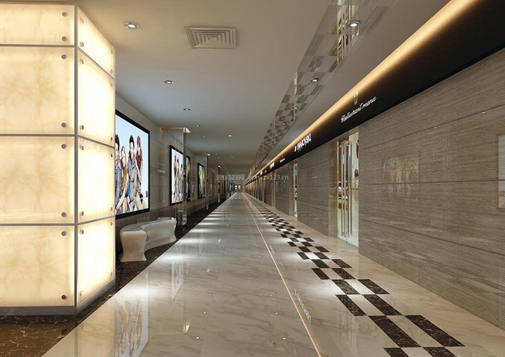 商场室内走廊效果图