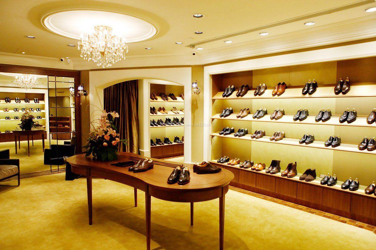 鞋店鞋柜装修效果图大全2016图片
