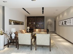 小戶型簡約背景墻 室內客廳裝修圖
