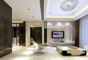 小戶型簡約背景墻 簡約客廳裝修效果圖