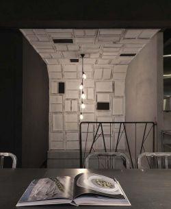 快餐店門面個性室內裝修效果圖片