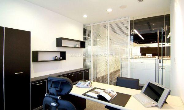 现代经理办公室装修效果图