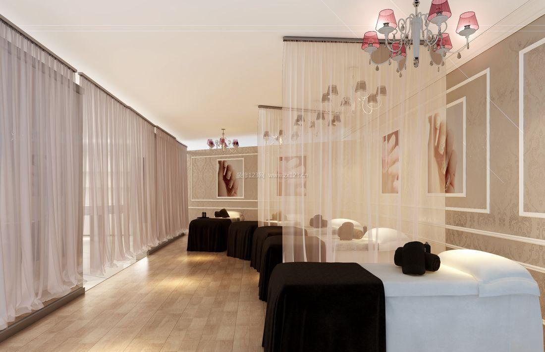 北京美甲店装修设计 美甲店装修风格