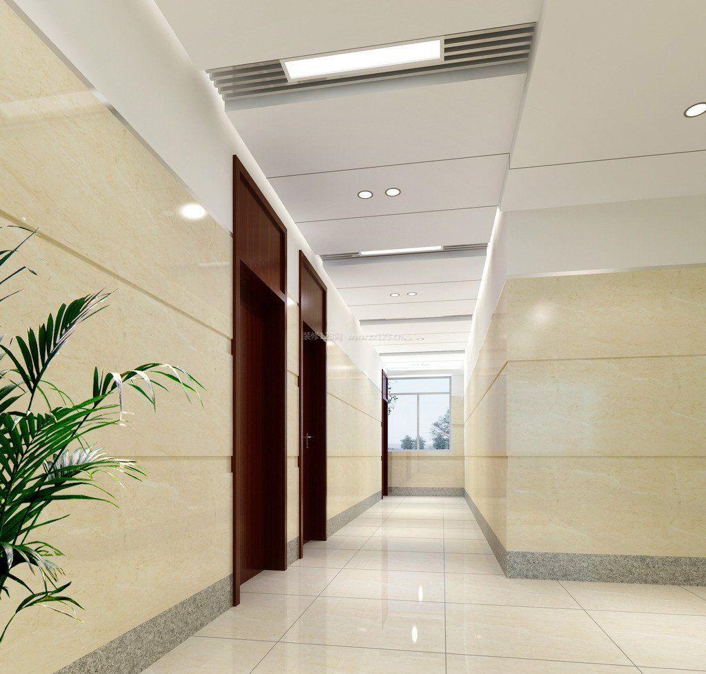 简约简约风格办公室走廊装修效果图