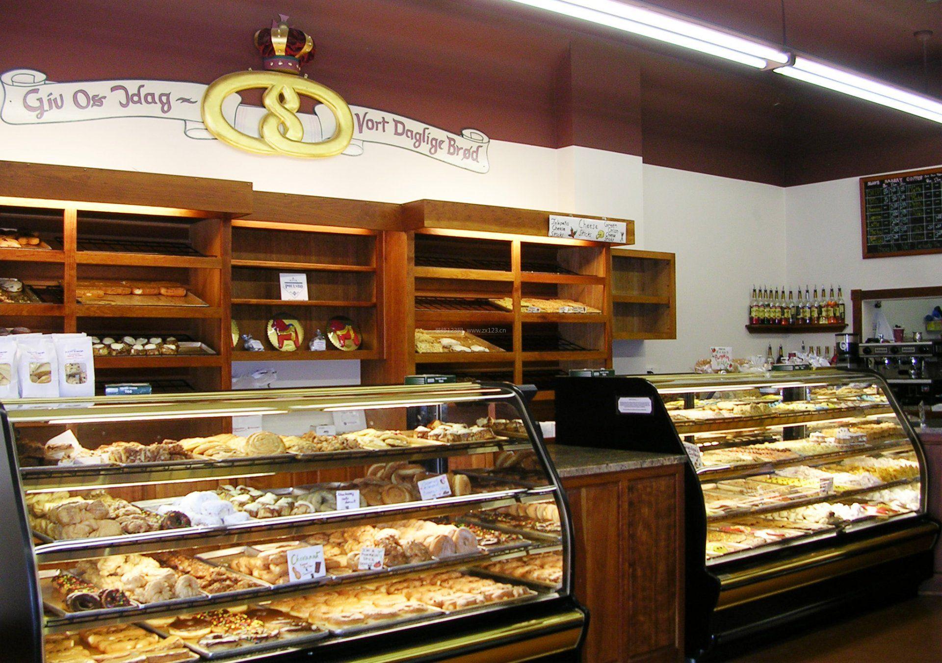 蛋糕店门面室内设计装修效果图图片