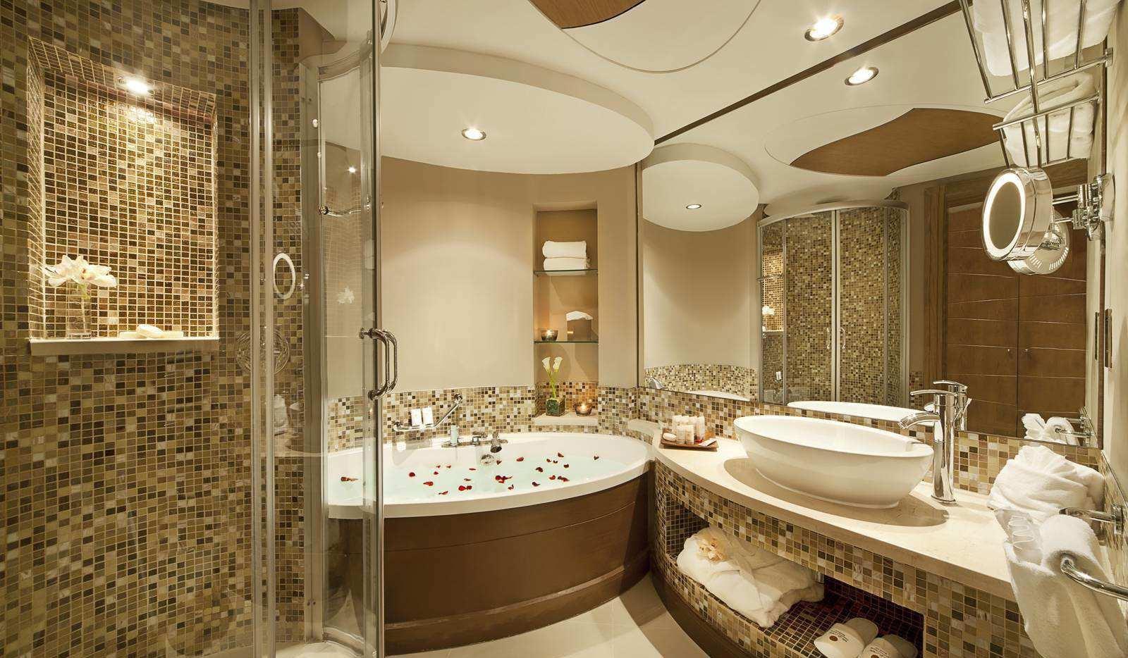 高档宾馆卫生间装修效果图片
