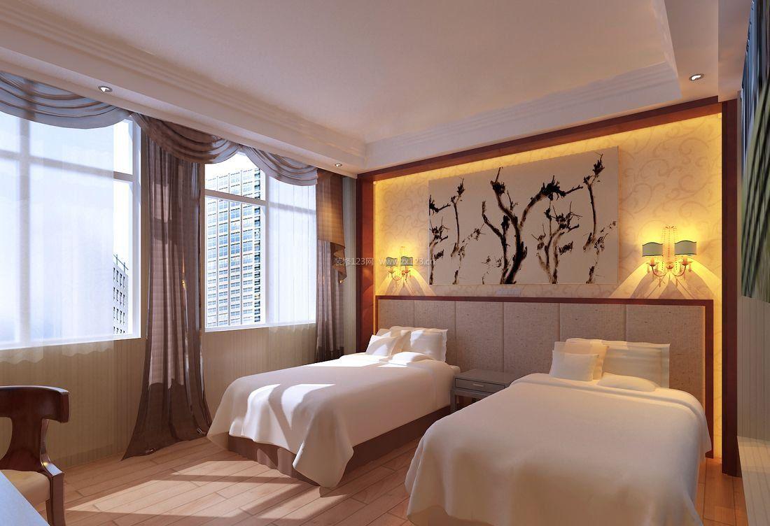 背景酒店图片风尚墙凝聚效果床头装修精气神文明新宾馆