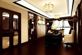 現代中式別墅設計效果圖 室內辦公室裝修效果圖