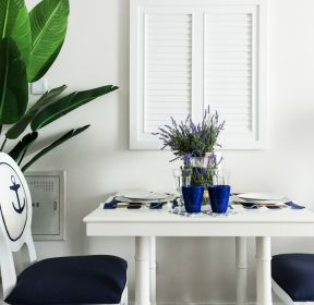 地中海风格家庭小餐厅装修效果图片-每日推荐