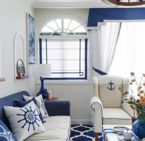 2017地中海风格家庭小客厅装修效果图片-每日推荐