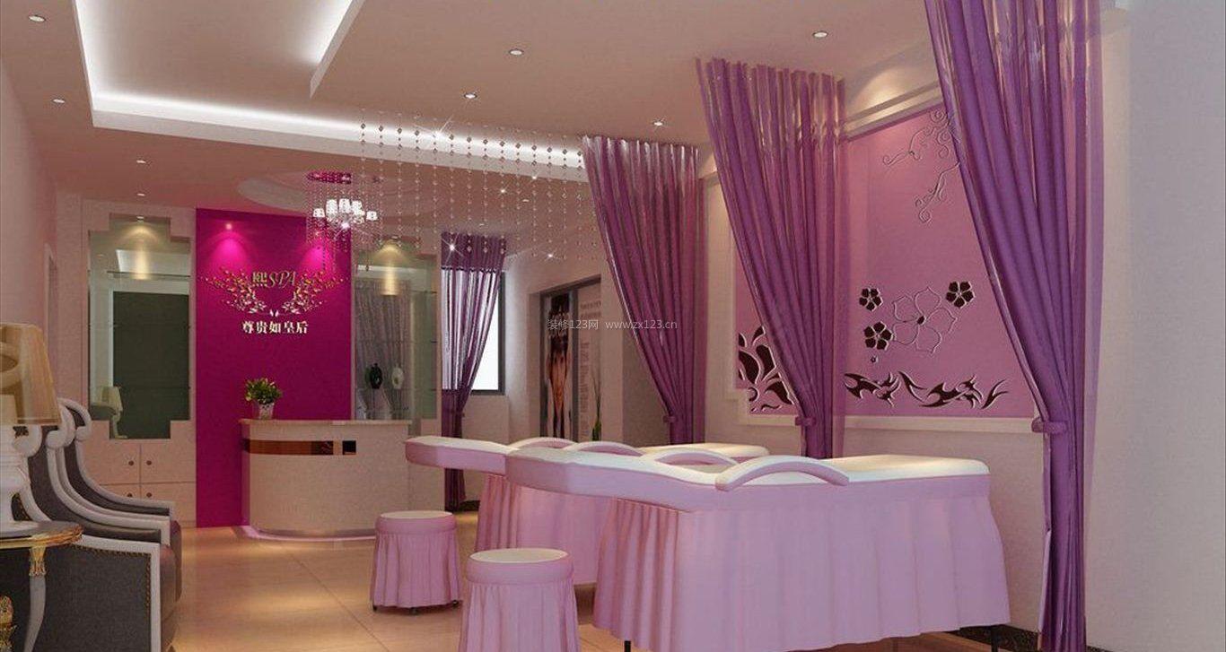 韩式美容院装修风格_韩式风格美容院