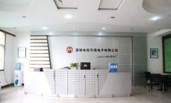 小型現代公司辦公室前臺設計效果圖片