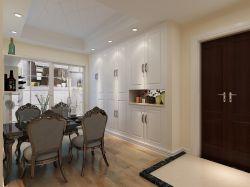现代两室两厅进门玄关鞋柜装修效果图片图片