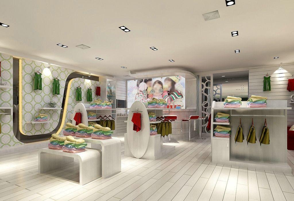 地中海风格装饰设计童装店装修效果图